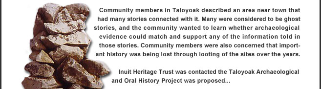 Taloyoak Archaeological and Oral History Project introduction
